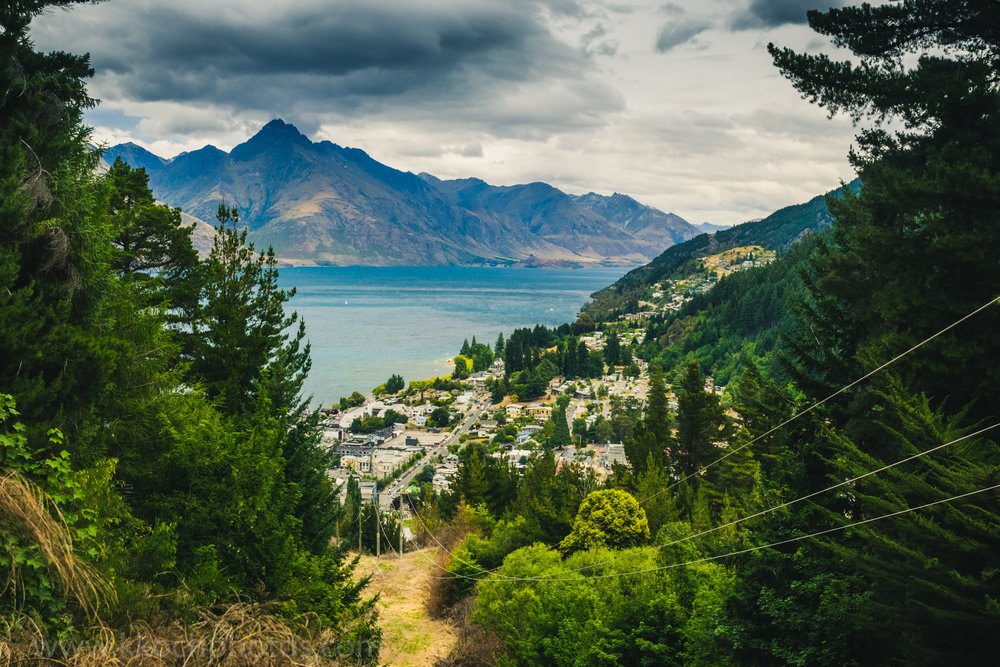 Queenstown Hill hike - I didn't have the energy to do the whole hike, but still was beautiful