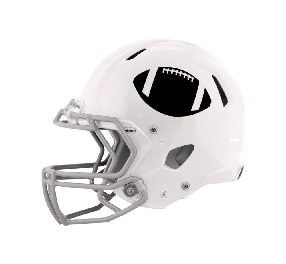 Proposed helmet for The Houston Footballs