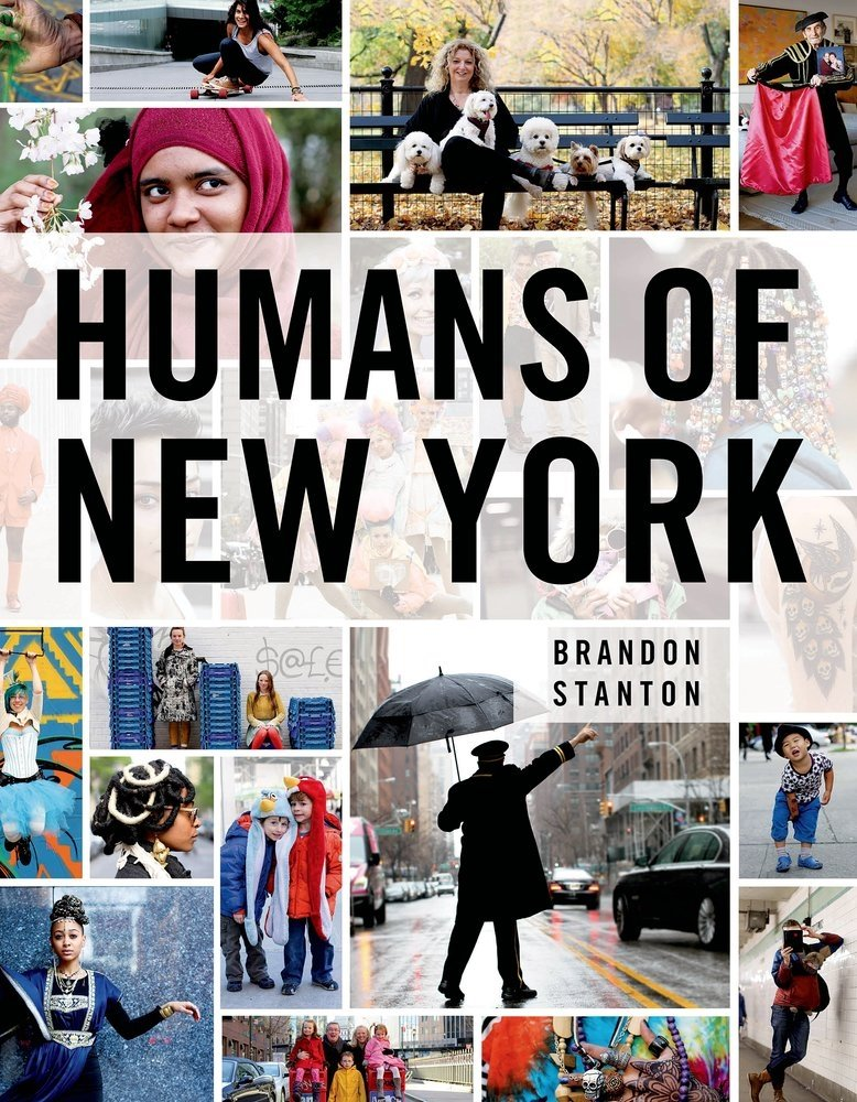 12.  Humans of New York Book   This book is a compilation of people's portraits and their stories around New York, captured by Brandon Stanton. I'll try not to sound too cheesy, but...wow these stories. They're all unique, candid, and poignant in some way. There's also a  blog  that he updates regularly and has a pretty huge following. I read several stories every week.