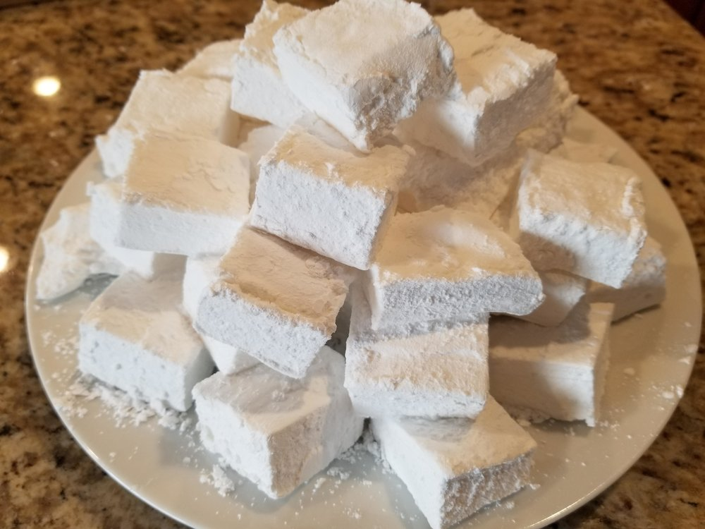 "14.  Homemade Marshmallows  I guess this isn't really a gift you can buy since it's primarily a homemade (store-bought ""homemade"" ones don't cut it). But I've been googling this recipe for over a year and I don't want to go through the effort to make them, only want them in my mouth."