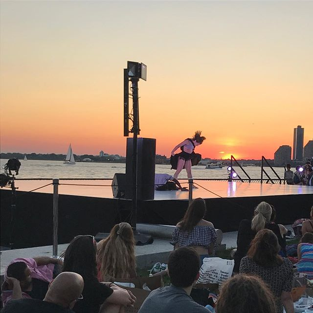 Owning it @wilderprojectdance #architectsinthewild #batteryparkdancefestival #aboutlastnight