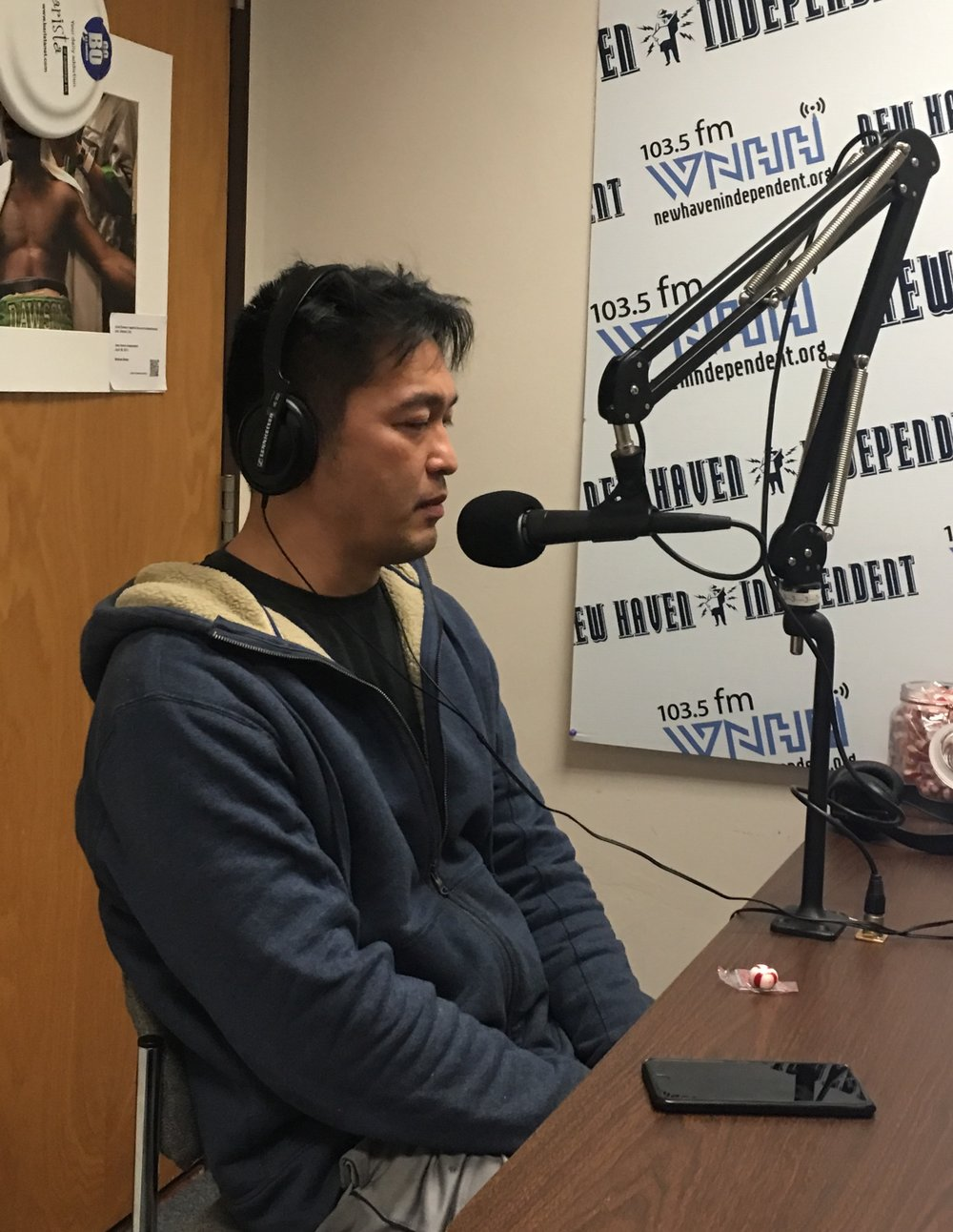 "Today on ""All Of Us"" host Greg Grinberg talks with Bun Lai from Nita's Sushi about Sushi and Politics."