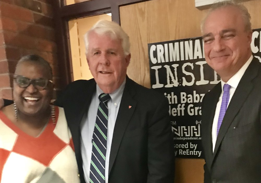 Babz Rawls-Ivy & Jeff Grant have a conversation with John Santa, Chairman of the Malta Justice Initiative and Member of the Connecticut Sentencing Commission.