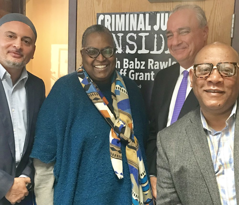 Babz Rawls-Ivy & Jeff Grant speaks with Scot X. Esdaile, President of the Connecticut State Conference of the NAACP, and Daee McKnight of Family ReEntry's Fatherhood Initiative.