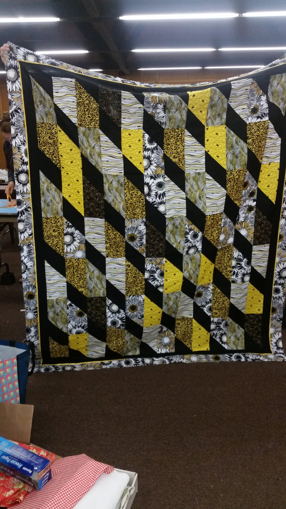 Jere Barrett's Mystery Quilt