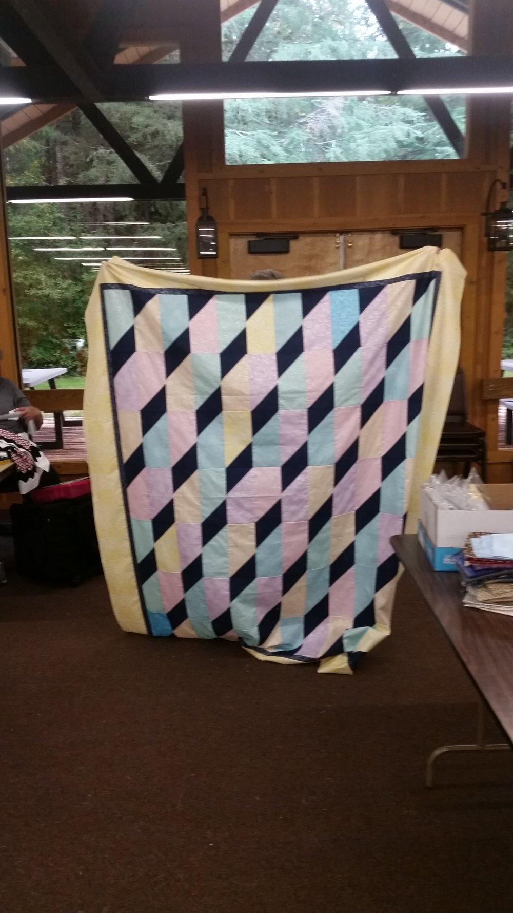 Kathy Amidon's Mystery Quilt