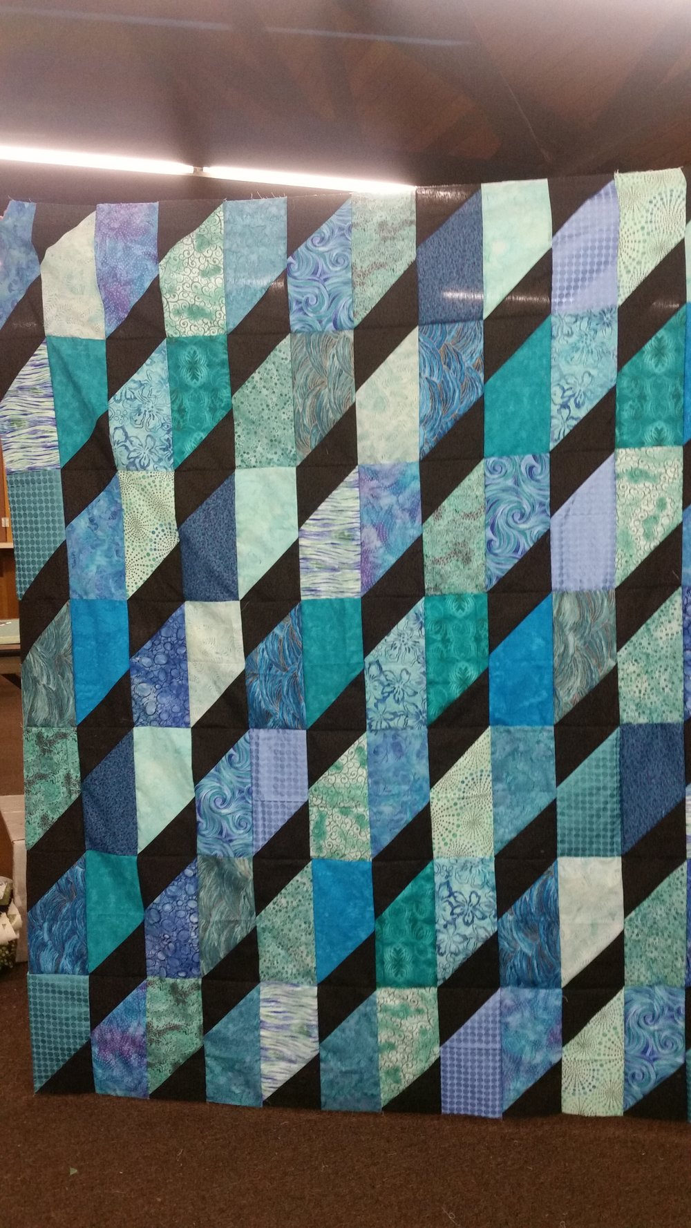Kathy Peacock's Mystery Quilt