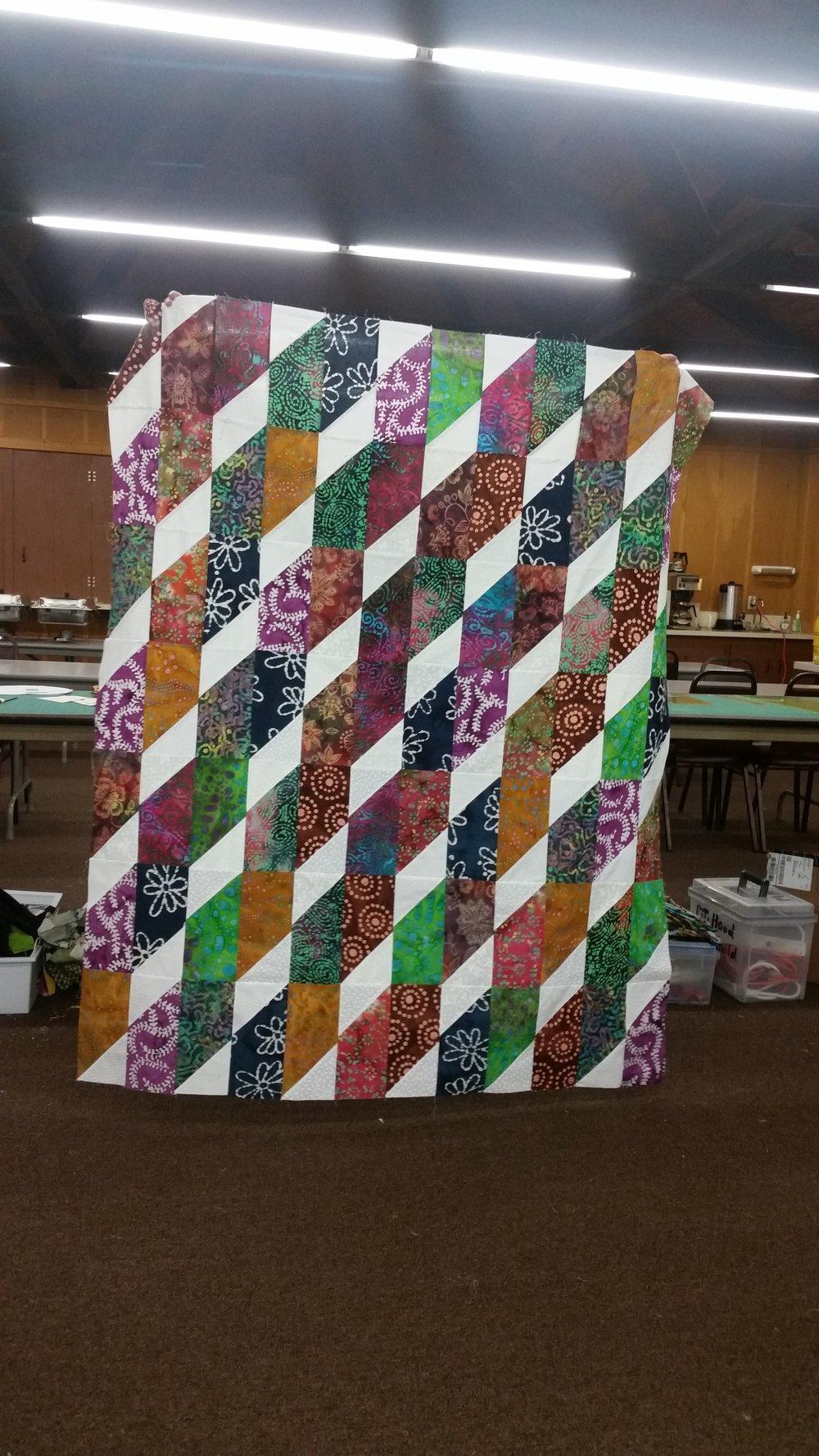 Liz Sheeley's Mystery Quilt