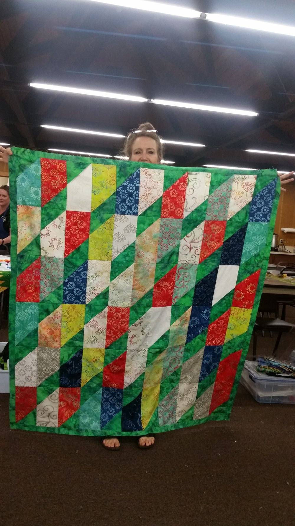 Michelle Monson's Mystery Quilt