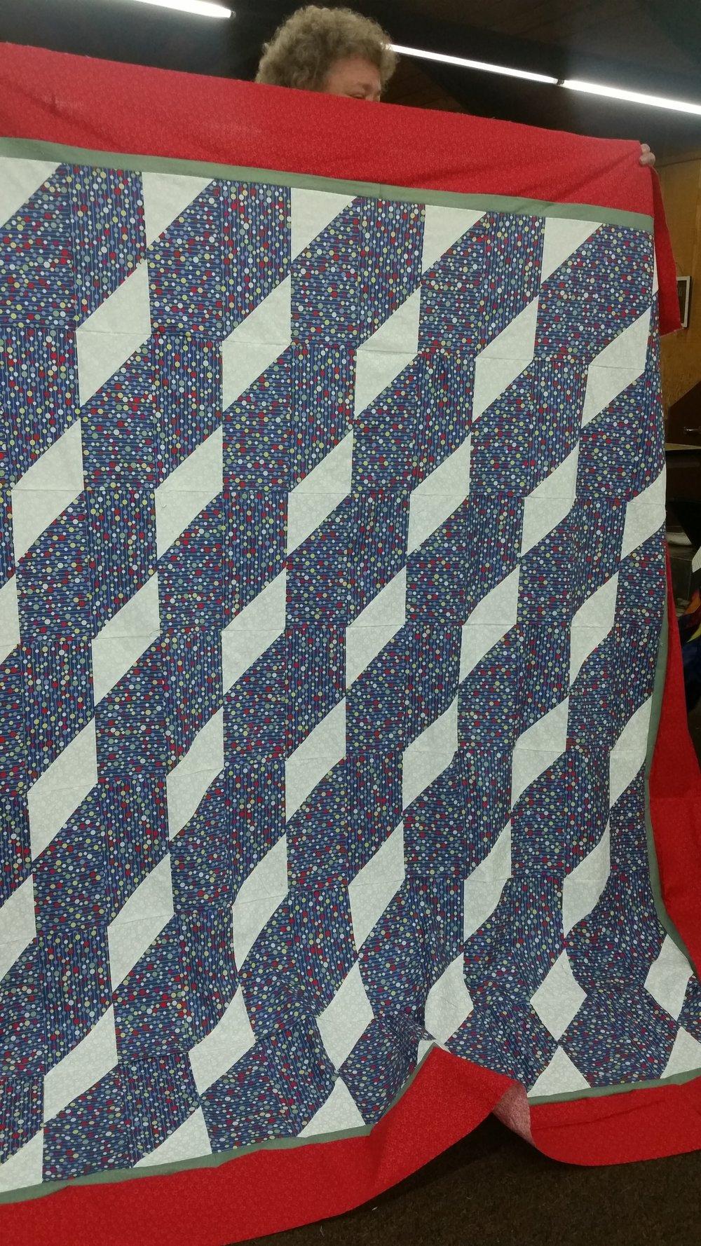 Nancy Pettit's Mystery Quilt