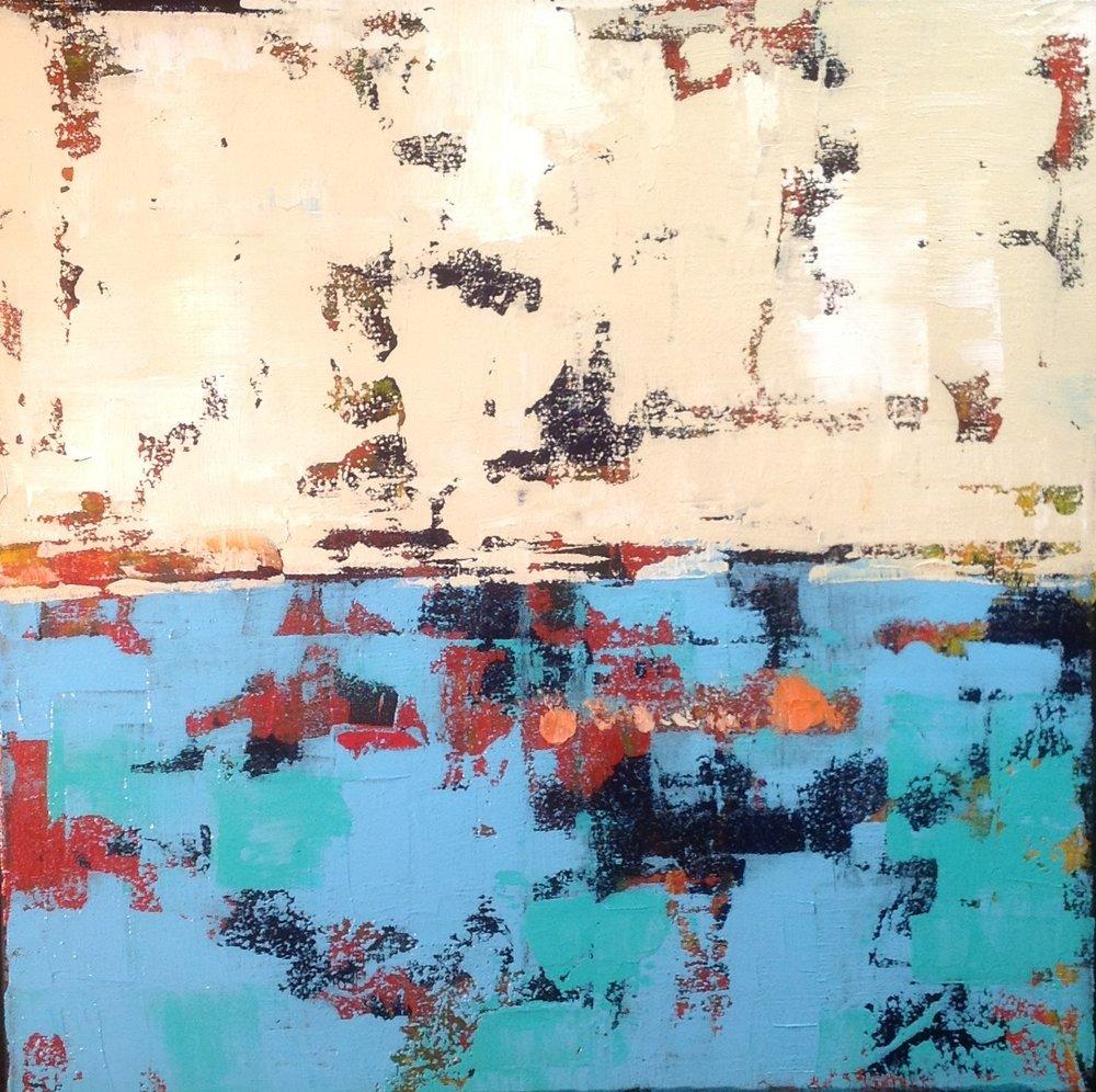 Beige over Blue (2013)