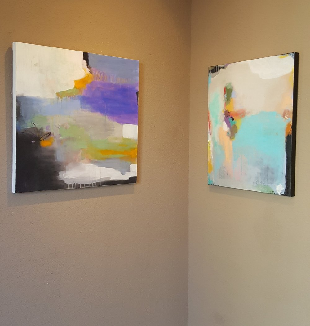 Solo Show at Melinda Perry's Gallery (2016)