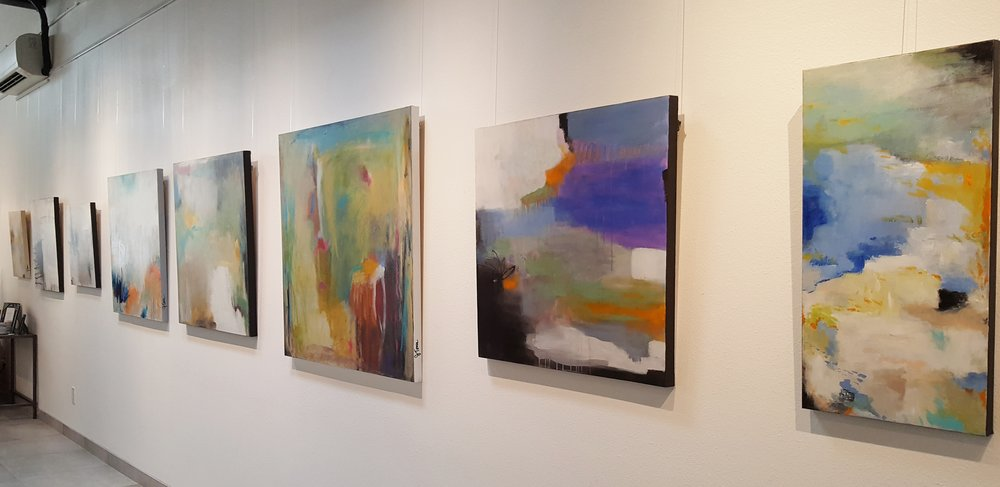 Solo Show at Local Color, Palm Springs, CA (2016)