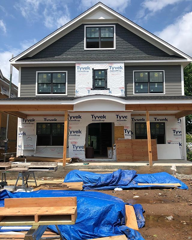 Sunday's at our #CarmitaProject. One of two new construction houses coming to Rutherford this summer