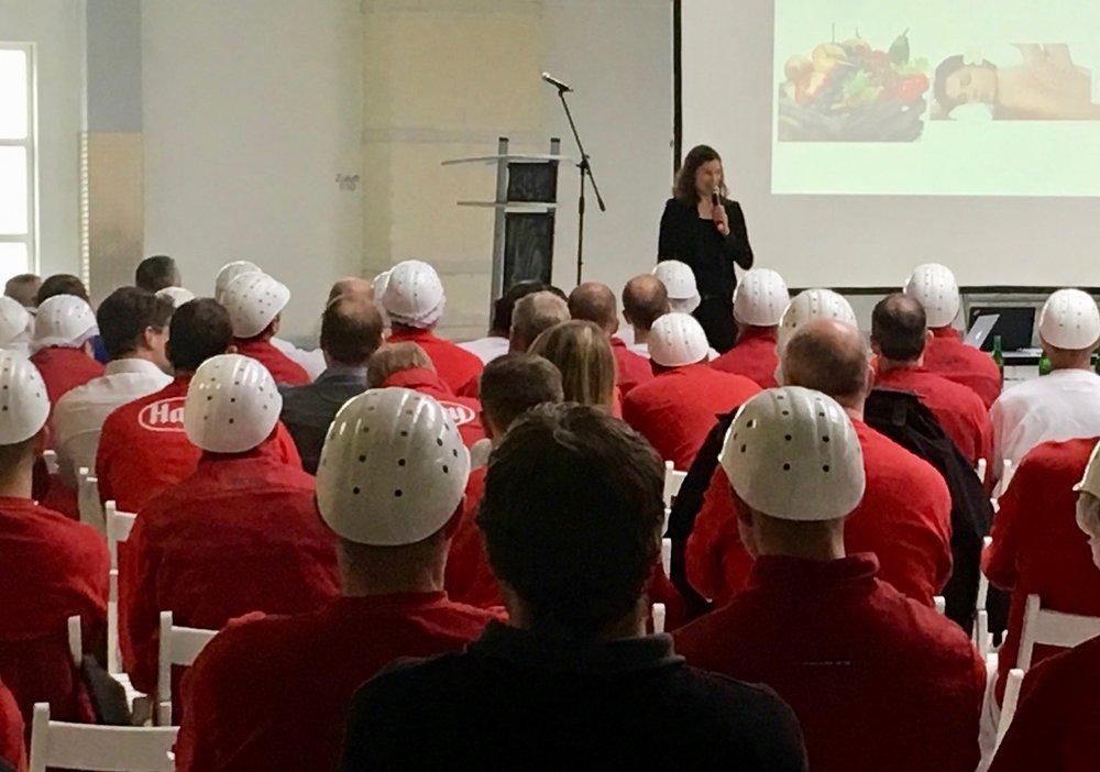 """Impulsvortrag """"Starke Mitarbeiter für ein starkes Unternehmen"""" Johanna Riesenbeck RPC Consulting GmbH"""