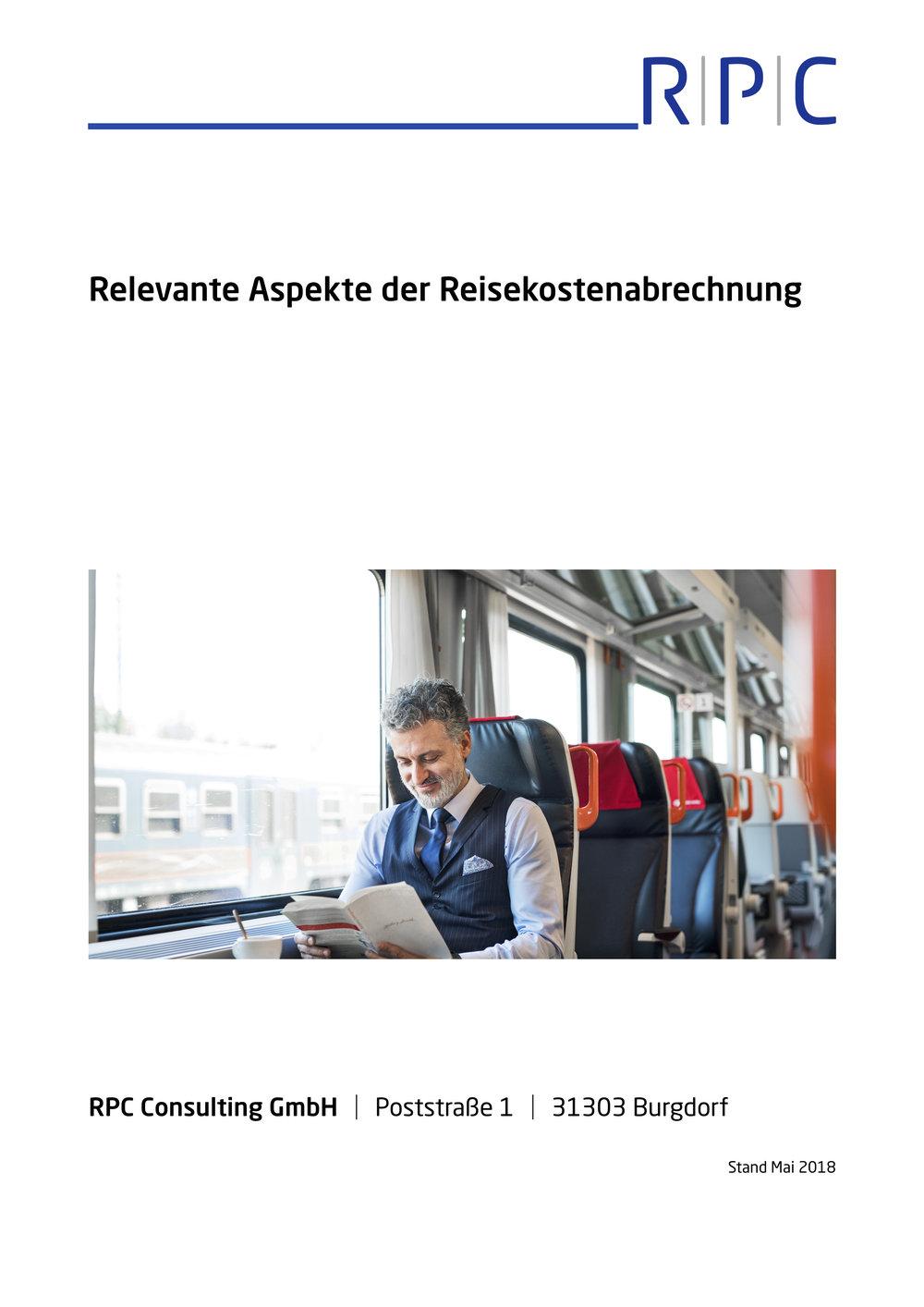 Reisekostenabrechnung - Relevante Aspekte der Reisekostenabrechung
