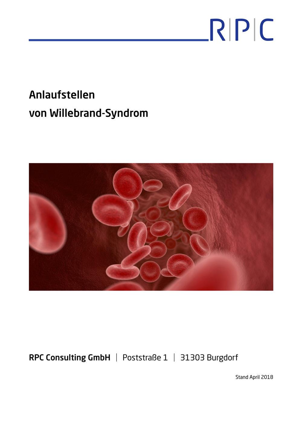 Hämophilie - Anlaufstellen von Willebrand-Syndrom