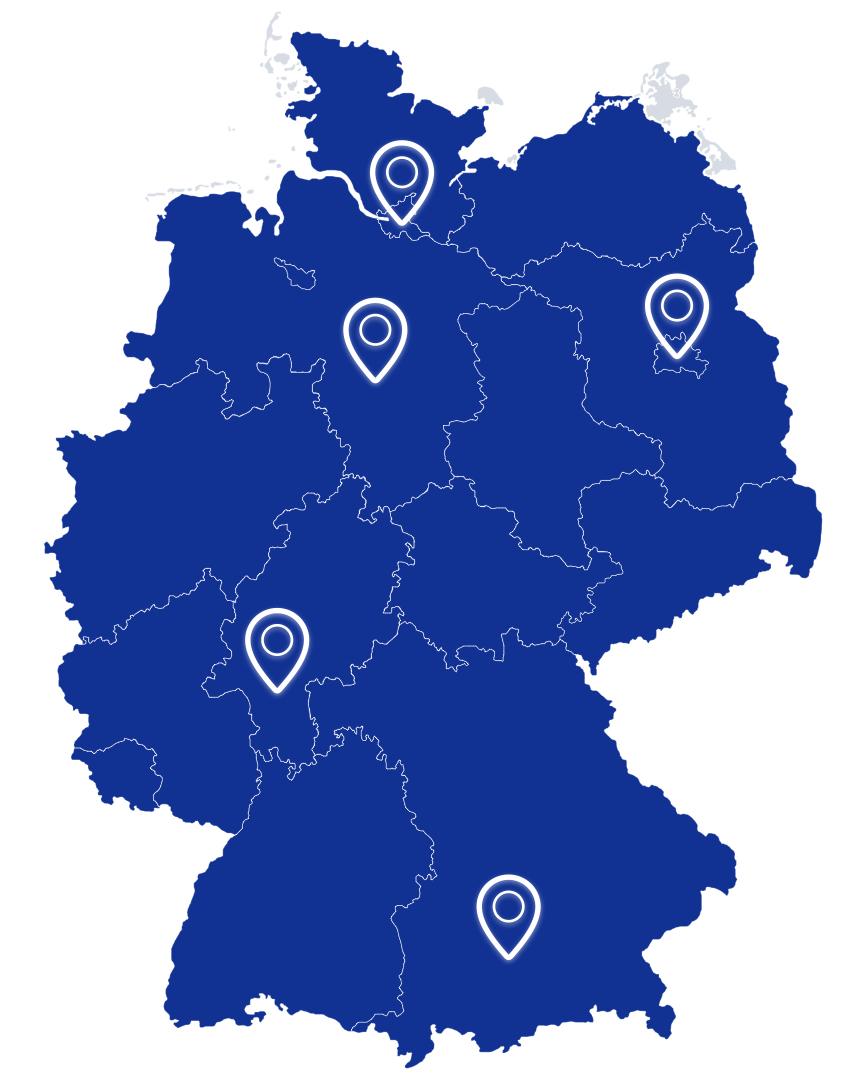 RPC Consulting GmbH Standorte Deutschland