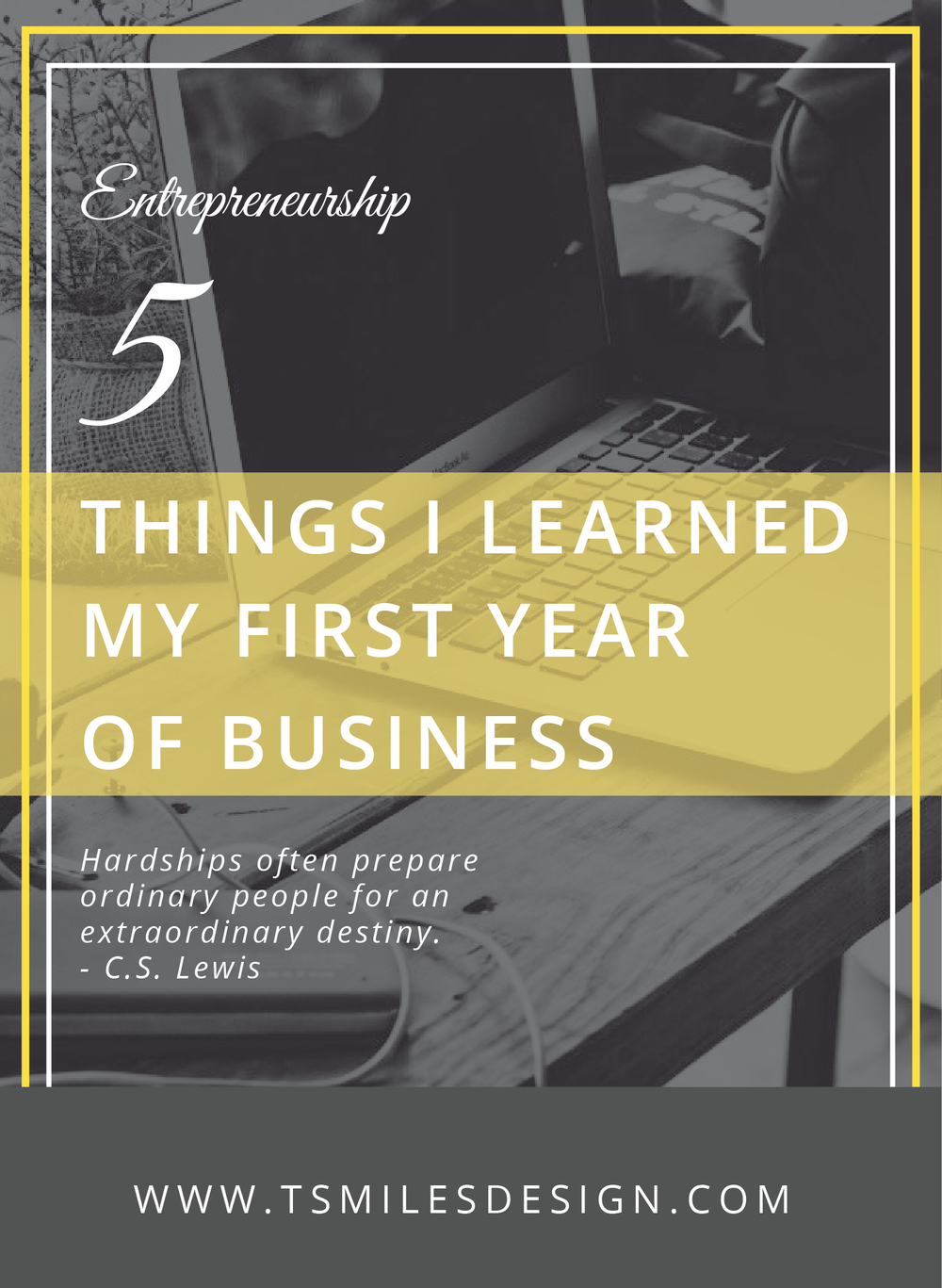 Learned First Year of Business