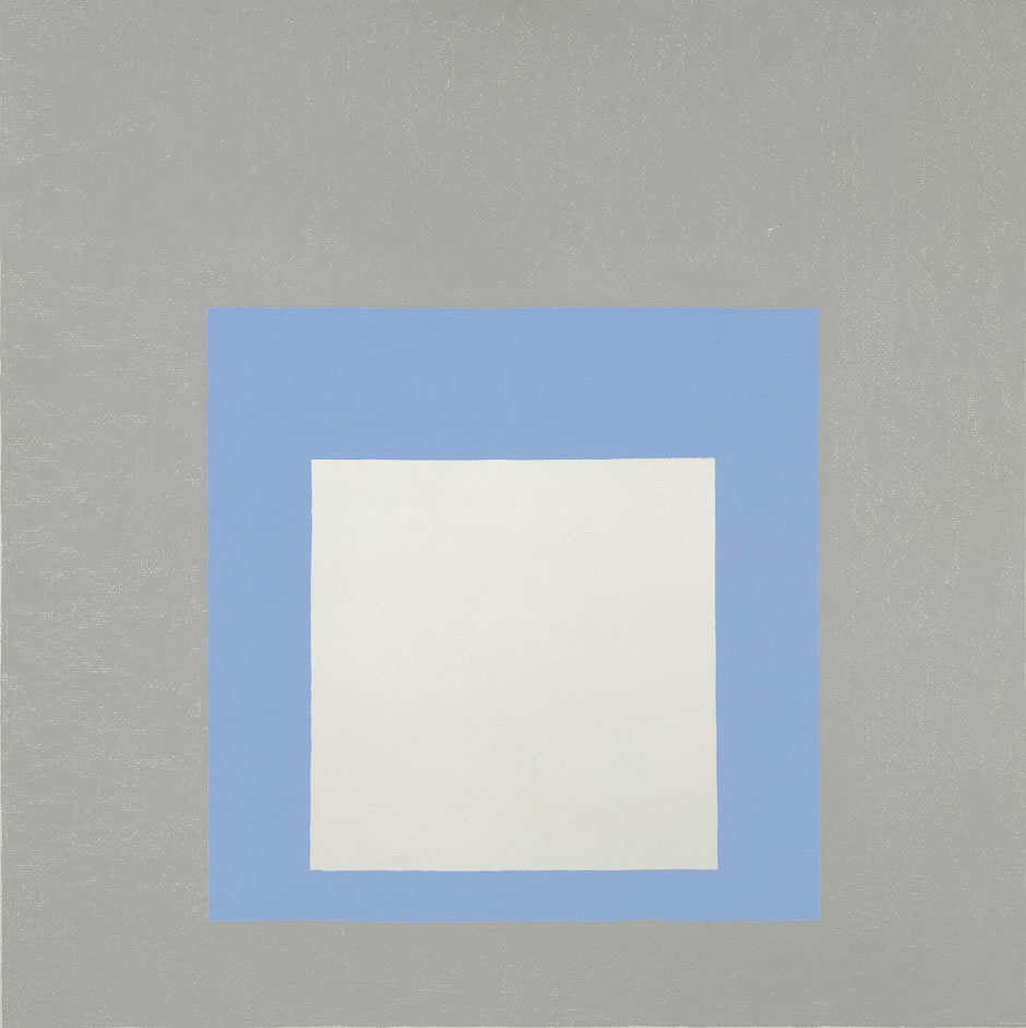 """Study for Homage to the Square"" 1964, Josef Ablers"