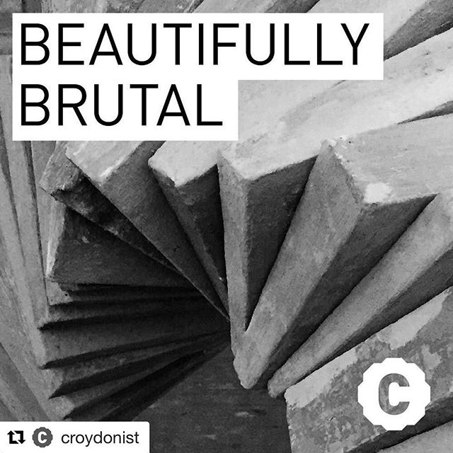 "Throwback to article written by  @croydonist about the show ""A Journey Through Brutalism"" earlier this year! Thanks again to Rise Gallery! ・・・ ‪Concrete Croydon - you either love it or hate it. (We love it). This week we were shown round #ajourneythroughbrutalism at @risegallery to see brutalist homages by @charlielangartist and others - read more here - http://croydonist.co.uk/brutal/‬ - #brutalism #brutalistarchitecture #beautifullybrutal #croydonculture #croydonart #croydonarchitecture"