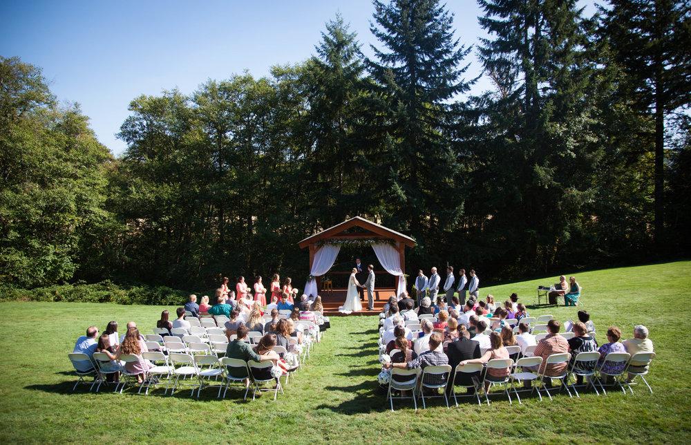 Christine & Daniel   Heritage Park Event and Retreat Center - Woodland, WA