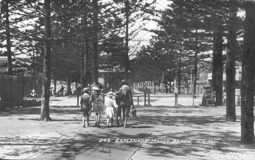 North Steyne Reserve and Mutoscope, c1905.jpg