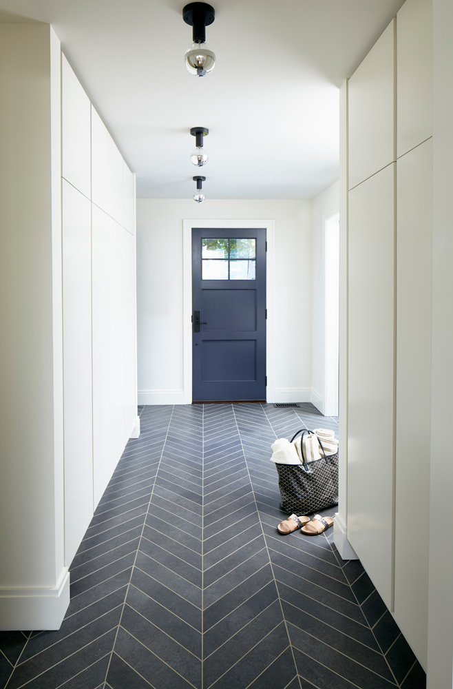 Westchester Modern Mudroom