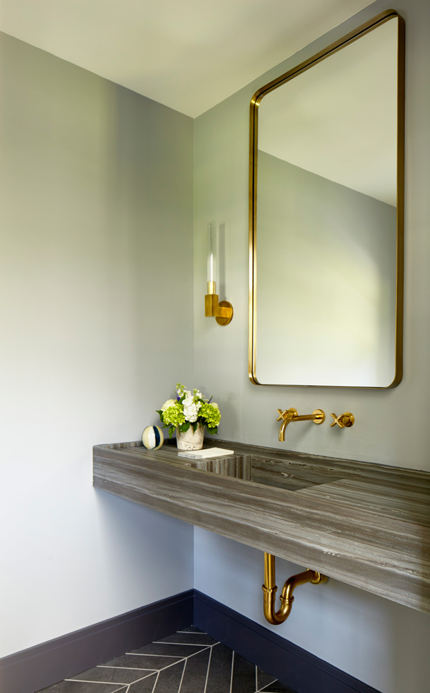 Westchester Modern Powder Room