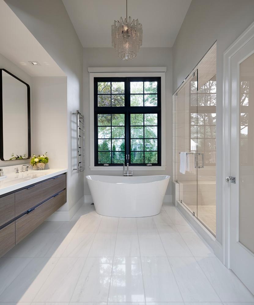 Westchester Modern Master Bath