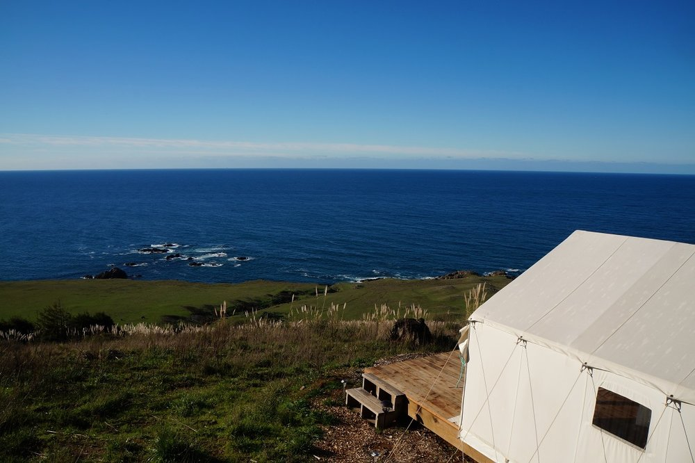 See the curvature of the earth  With hundreds of miles of ocean horizon, your tent is the best place to see the subtle curvature of the earth