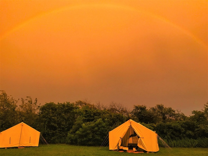 Glamping in Fort Tilden