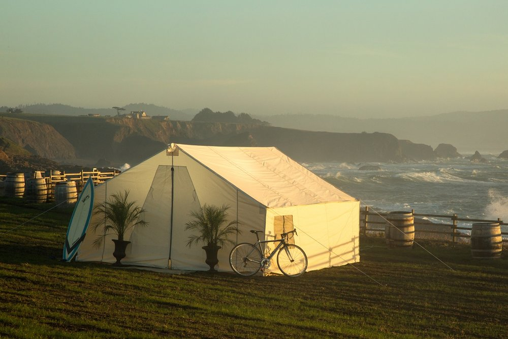 Terra Glamping Event on the California Coast