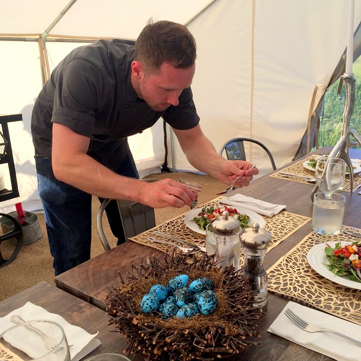 Terra Glamping Chef- Wedding and Events