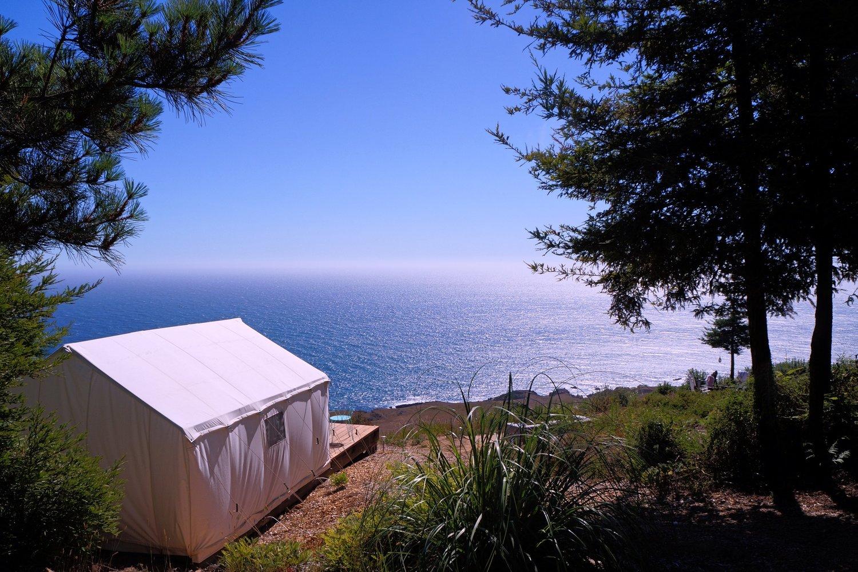 Glamping In California >> Northern California Terra Glamping Where Modern Luxury The