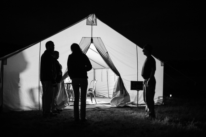 Camp Butler - Onsite glamping helper to set the fire and serve your guests
