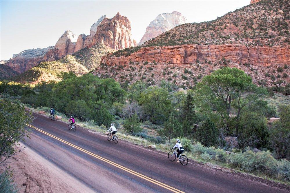 Biking -