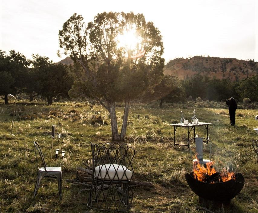 Terra Glamping Campfire
