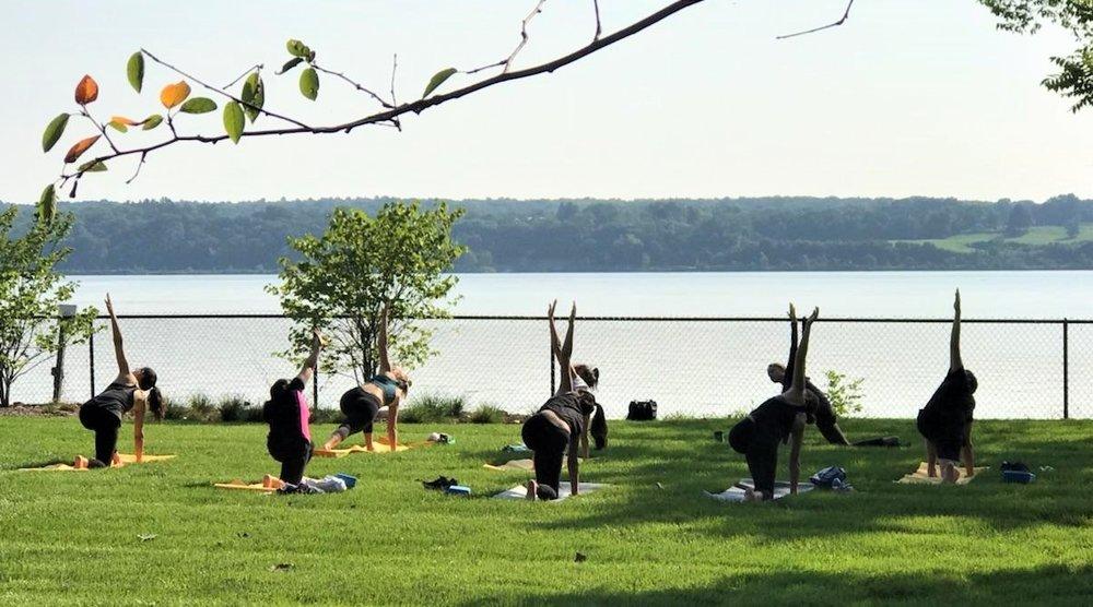 Terra Glamping- Hutton Brickyards yoga