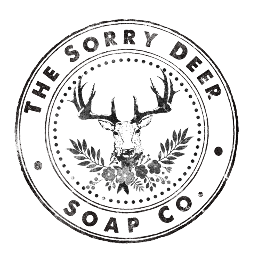 The Sorry Deer Soap Company offers handmade, artisanal bath and body products, such as soap, bath bombs, salts, scrubs, balms and salves, oils and perfumes, and so much more. Want to know more before you hop into the bath with us? Here are some quick facts: We formulate our own recipes, using quality ingredients. We source our materials locally (and grow our own botanicals) whenever possible. We offer many vegan options, and all products are phthalate free. We would never sell anything we wouldn't use, and manufacture all of our products according to federal regulations. Every Sorry Deer product is reported to Health Canada and rigorously tested on humans to ensure you're getting a fantastic product you can trust. We manufacture in small batches to ensure quality, uniqueness and freshness. We put our hearts into everything we make, and we think you'll love our products just as much as we do!