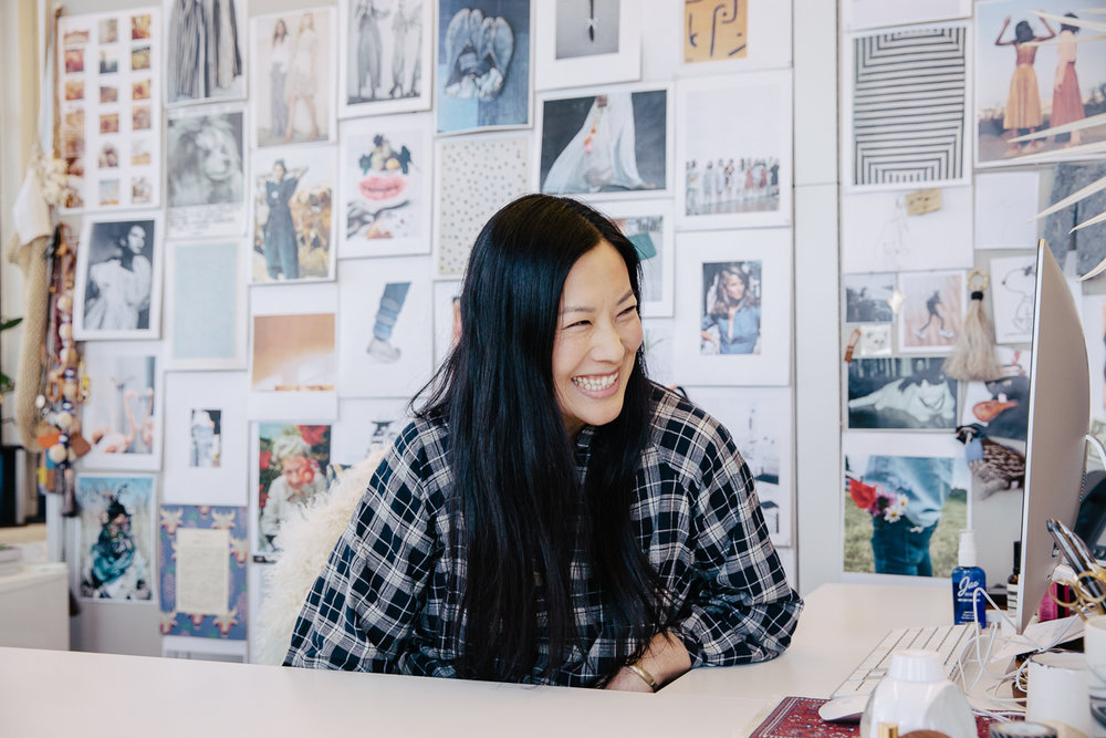 A profile on Madewell's create director, Joyce Lee, for Sweet.
