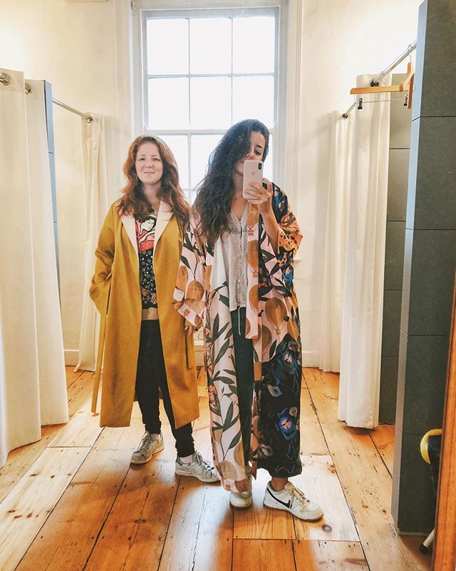 Perpetually trying on robes with @selzstras