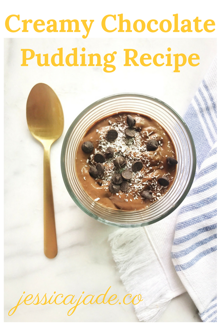 Chocolate Avocado Pudding