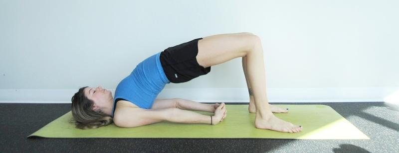 Bridge Pose Yoga Digestion