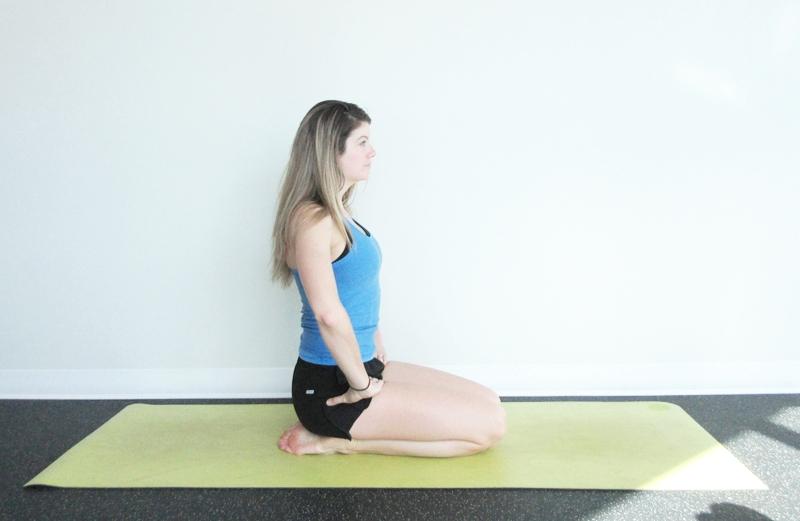Diamond Pose Yoga Digestion