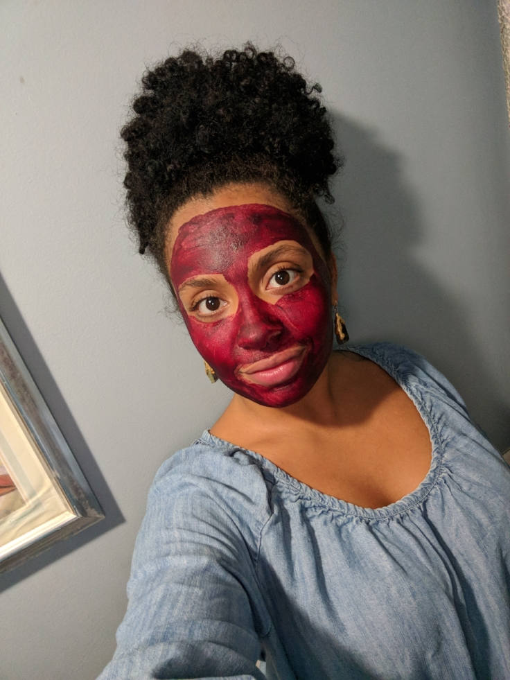 beetroot face mask