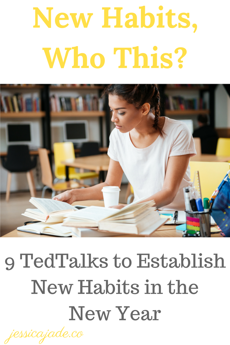 Est9 TedTalks to Establish New Habits in the New Year