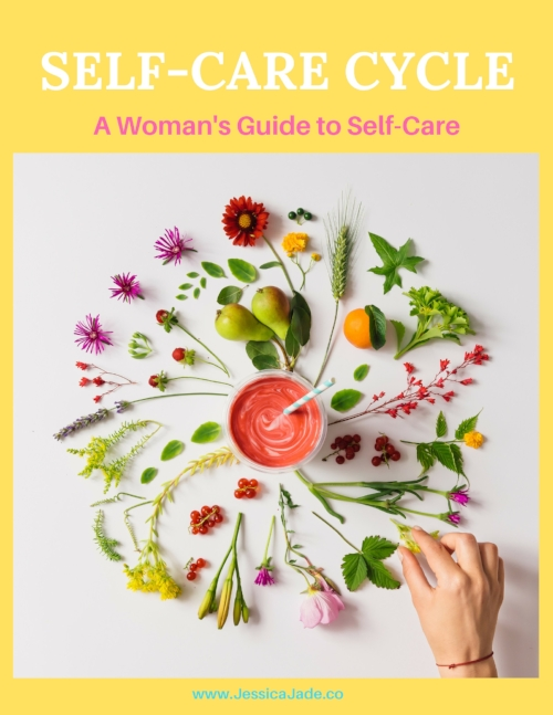 DOWNLOAD MY FREE SELF-CARE CYCLE: A WOMAN'S GUIDE TO SELF-CARE -