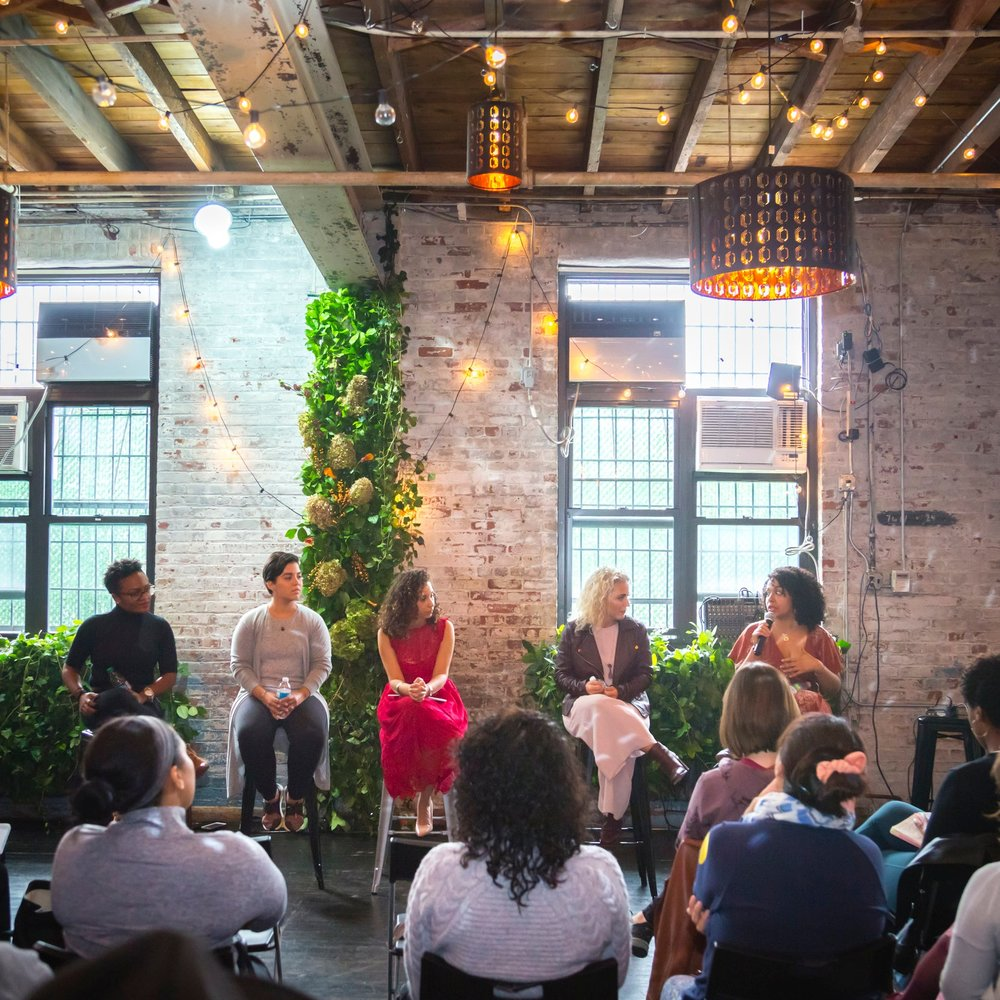 Grounding Through Love Panel - Through meditation, yoga, and self-care, we can learn to manifest our wildest dreams while remaining grounded in a fast-paced society. Please join us for a 4.5 hour event that will include meditation, a grounding yoga practice, a panel discussion with representatives from all over the wellness world, and an Ayurvedic meal appropriate for Vata season. Shop with vendors with crystal jewelry, sacred medicinal practices, accupuncture, spiritual healing, and more. All participants will receive a swag bag loaded with products from our sponsors, and Luxe participants will receive a premium photo experience with Diana Davis and participate in a mala-making workshop.
