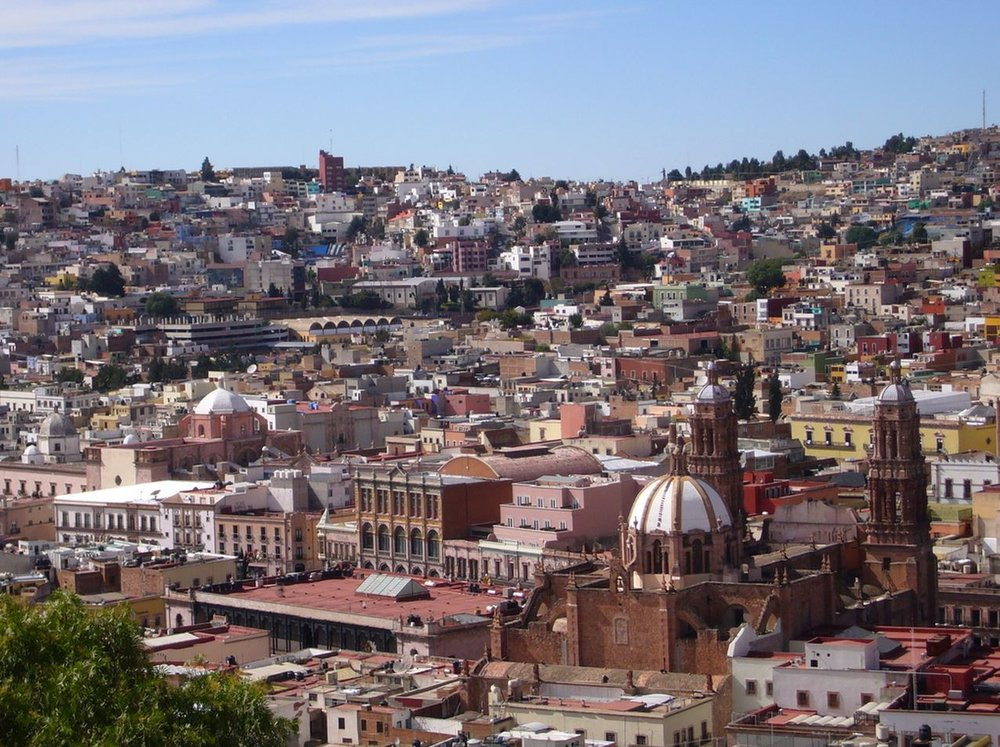 City of Zacatecas, Mexico